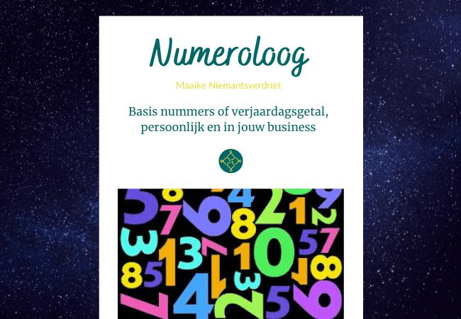 Basisnummers of verjaardagsgetal