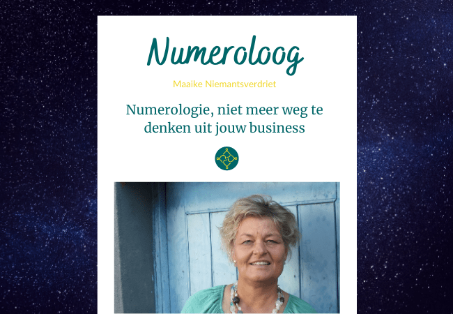 Business numerologie